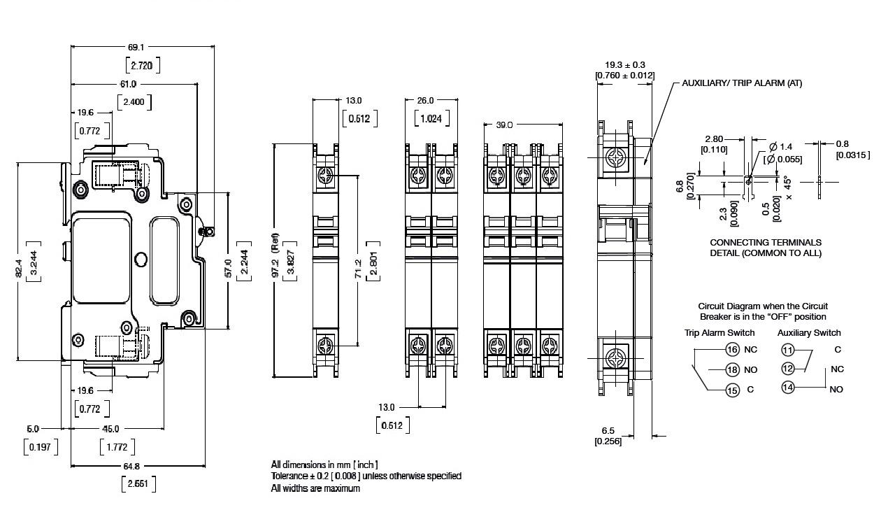 首页 机械及行业设备 低压电器 低压断路器 巨龙qdc-a-2(13)断路器